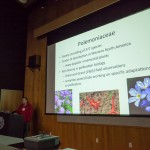 Jacob Landis and John Chau discuss evolution of flower pollination morphology